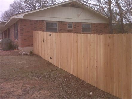 6 foot Western Red Cedar Privacy Fence
