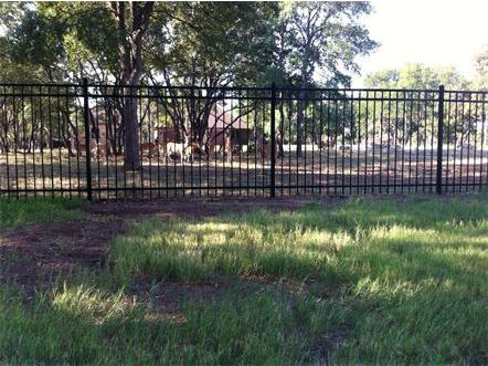 5 foot tall (3) Rail Ameristar Ornamental Steel Fence