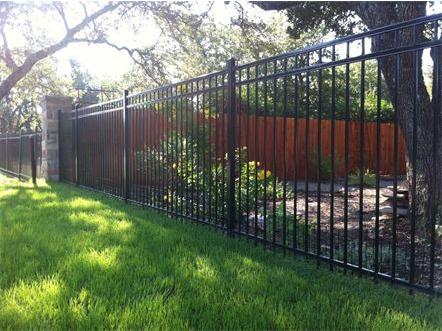 5 foot (3) Rail Ameristar Ornamental Steel Fence