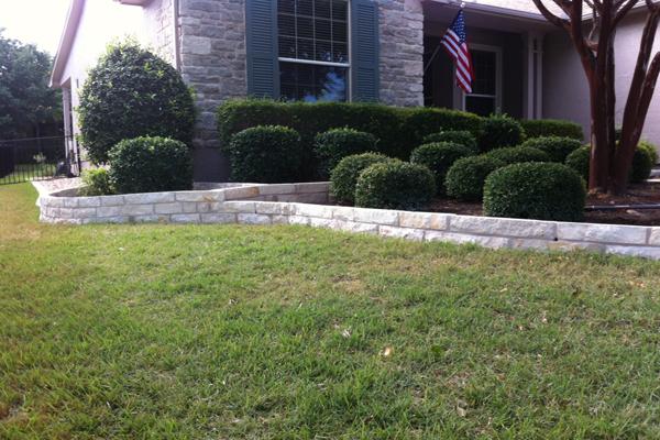 flowerbed border