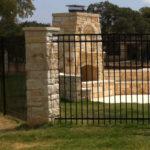 Masonry Fencing Columns Hicks Fencing